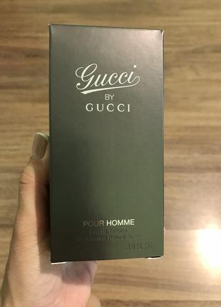 Gucci By Gucci Pour Homme Туалетная Вода Оригинал 90 Ml
