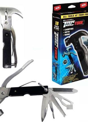 Многофункциональный молоток-гвоздодер Инструмент Tac Tool 18 in 1