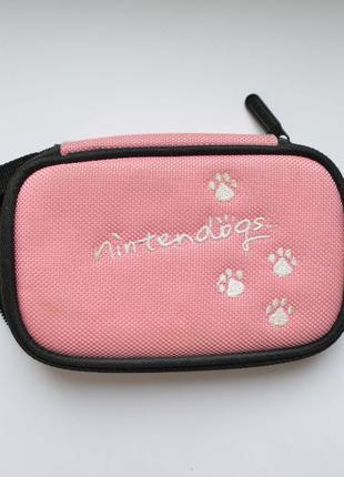 Футляр чехол для Nintendo DS 2DS 3DS Lite розовый нинтендо Nin...