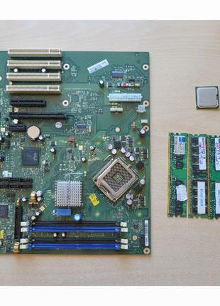 Материнская плата LGA775 Fujitsu Celcius W350,Встроенная Графика,