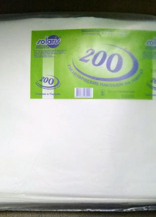 Гигиенические накладки на унитаз, 200шт.