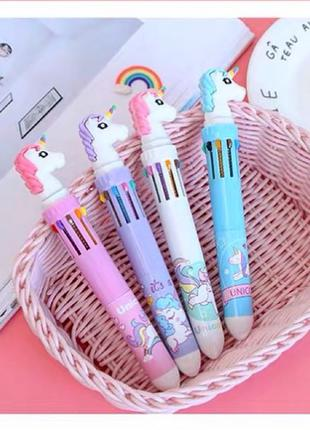 Ручка с единорогом (10 цветов ампул)