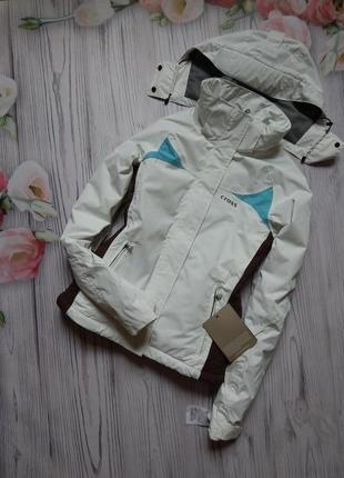 Шикарная, зимняя женская куртка от известного бренда cross. ра...