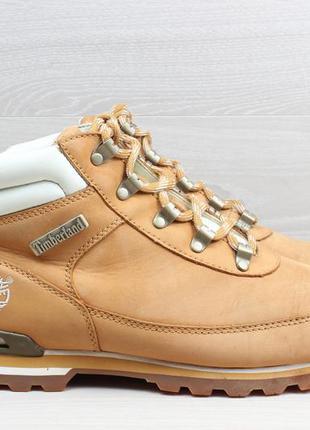 Мужские кожаные ботинки timberland оригинал, размер 44