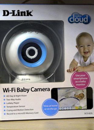 WIFI видеоняня IP видеокамера D-Link DCS-825L