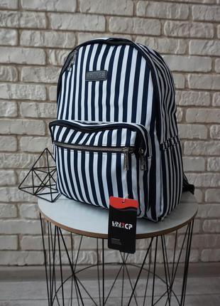 🔥🔥🔥полосатый рюкзак для школы и досуга, женский рюкзак в полоску