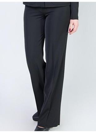 Классические женские брюки с высокой посадкой р.44 код 910м