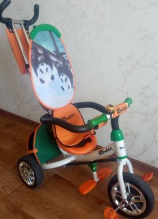 Велосипед детский трехколесный SAFARI (отл.сост.)