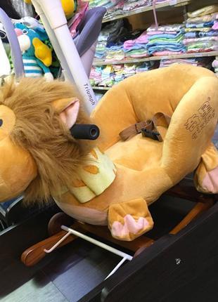 Кресло-качалка львёнок