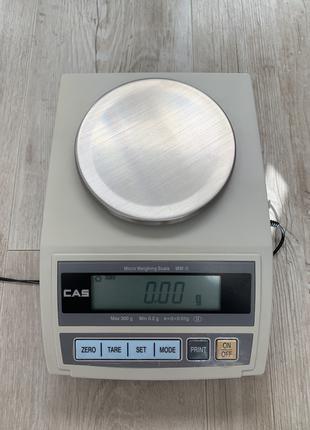 Весы лабораторные-ювелирные CAS MW-ll-300