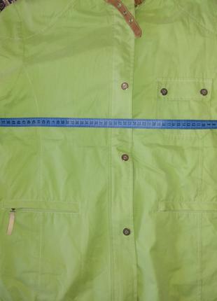 Куртка салатовая Wissmach № 321