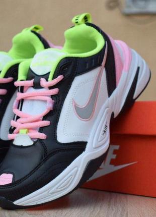 Хайповые кроссовки 💪 nike  air monarch white pink 💪