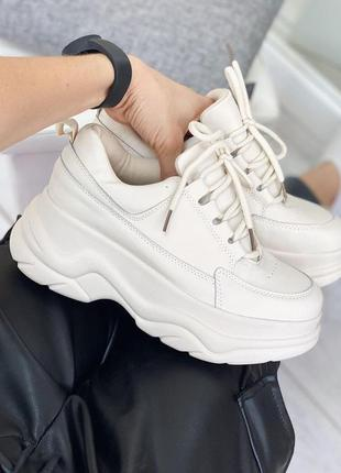 Осенние 🌿 кроссовки stilli женские платформа плотные