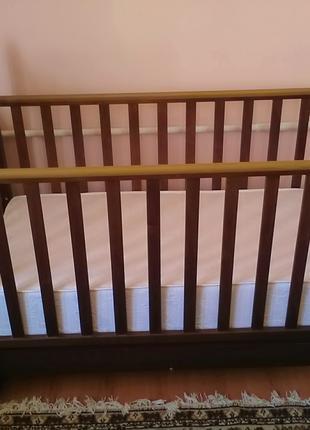 Ліжко дитяче на дузі + матрац ортопедичний/ кроватка
