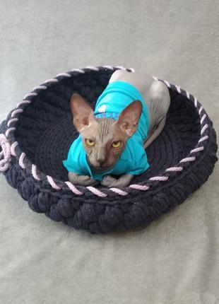Лежанка манеж для котов и собак