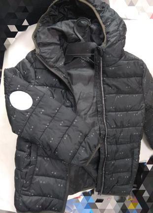 Спортивная куртка в горохи hema р.134/140