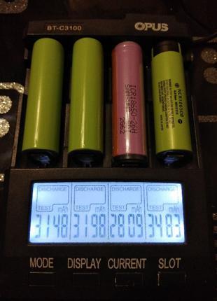 Аккумуляторы Tesla (Panasonic 18650 Li-ion 2600-3400mАh), терм...