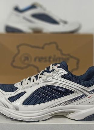 Мужские подростковые кроссовки для бега, спорта Restime Рестайм