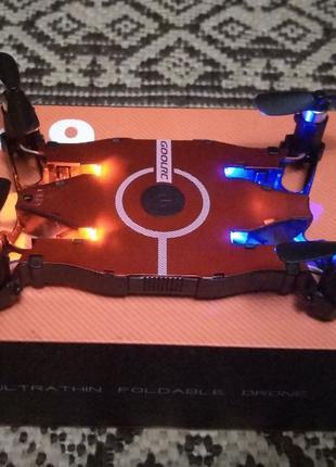 Квадрокоптер GOOLRC T49 камера WiFi дрон квадрик JJRC H49 игру...