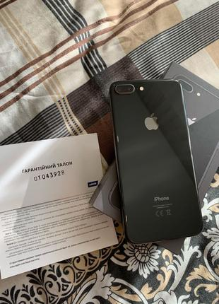 iPhone 8 Plus 64GB Black Айфон 8+