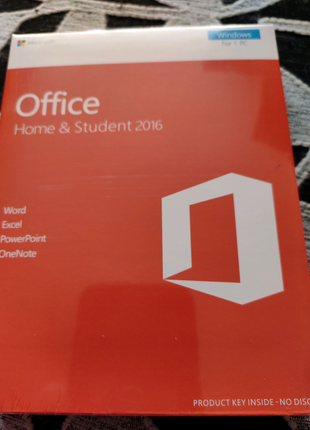 Office Home@Student Plus 1 Pc 2016
