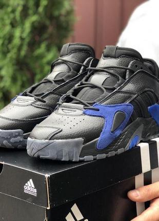 👟 кроссовки мужские  adidas streetball адидас / наложенный пла...