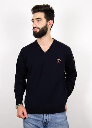 Paul & shark свитер шерстяной джемпер кофта свитшот
