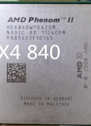 AMD Phenom II X4 840 3200mhz s.AM2+/AM3 Процессор