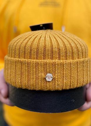 Укороченная шапка 🧢 мужская шапка 🧢