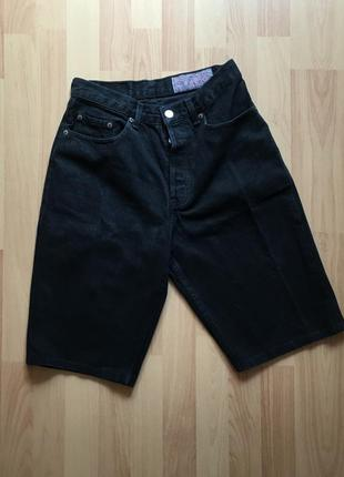 Жіночі джинсові вінтажні шорти levis женские шорты винтаж джин...
