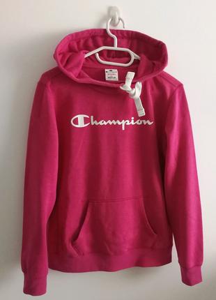 Худи толстовка свитшот оригинал розовая худі Champion