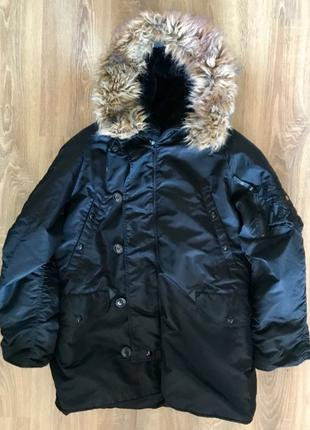 Куртка парка аляска Alpha Industries N3B Parka оригинал