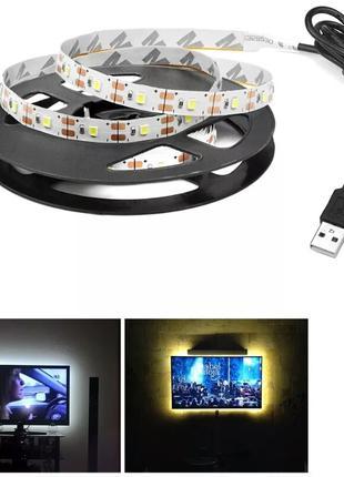 3 м светодиодная лента 5В USB LED для подсветки кровати кухни