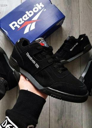 Мужские кроссовки reebok total black