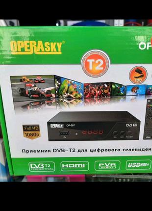 TV тюнер Т2 металлический корпус. ОР - 407 пластик