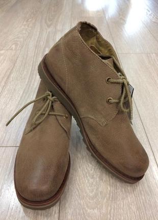 Ботинки осенние  нубук размер 43