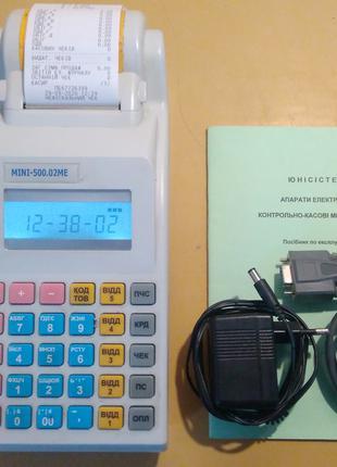 Касовий апарат МІНІ 500.02МЕ/Касові Апарати/ЭККА, РРО