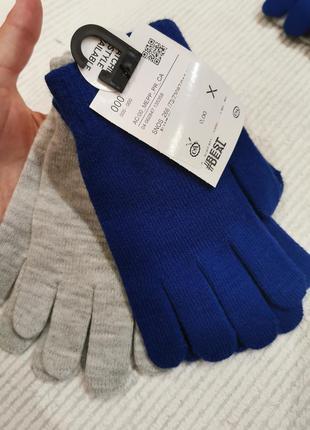 2 пары демисезонных перчаток на 6-13 лет германия