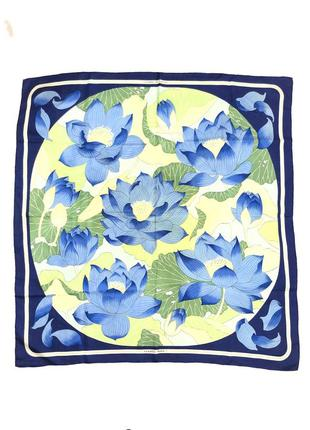 "Hermes silk scarf, ""fleur de lotus"", vintage шелковый платок о..."