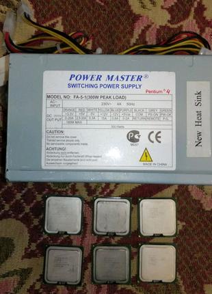 Комплектующие для компьютера (процессор, блок питания)