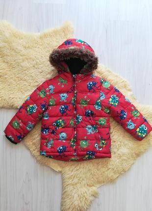 Яркая куртка а 2-3 года