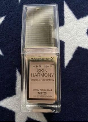 Тональный крем Max Factor Healthy Skin Harmony Foundation