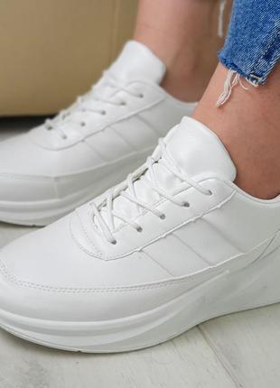Женские белые кроссовки, кроссовки