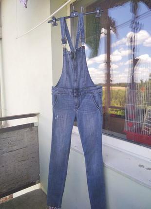 Крутой джинсовый комбез Hollister