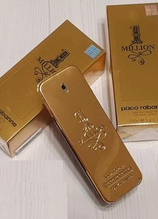 Туалетная вода - paco rabanne 1 million 100 ml оригинал, один ...