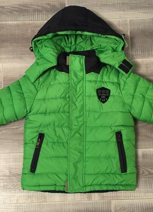 Детская зимняя куртка 98-104