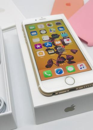 IPhone 6S 64GB, Gold, Neverlock, Полный Комплект