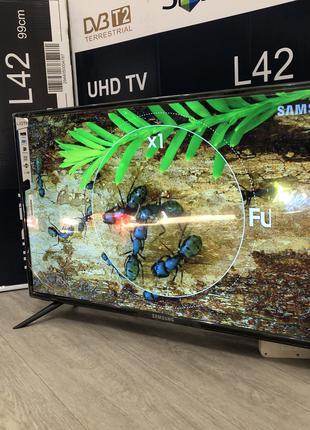 "4K телевизор Samsung  SmartTV 42"" UHDTV,LED, IPTV, Android,T2"