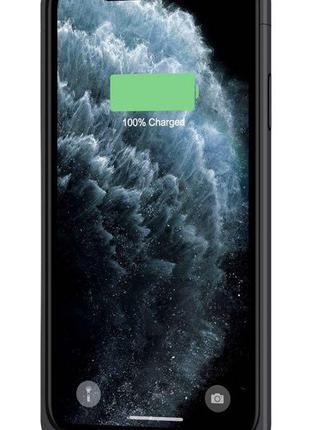 Чехол зарядка чехол Power bank на айфон Iphone 11 pro