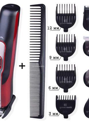 Машинка для стрижки, триммер, бритва Gemei GM-592 10 в 1. АКЦИ...
